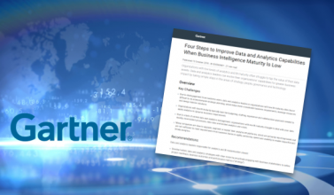 Four Steps To Improve Data & Analytics Capabilities When Business Intelligence Maturity Is Low