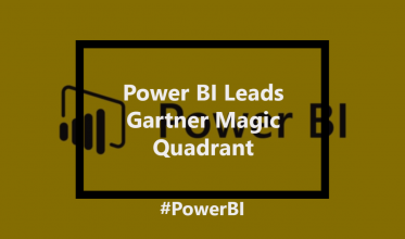 Gartner 2018 Analytics & Business Intelligence Magic Quadrant Report & Microsoft BI