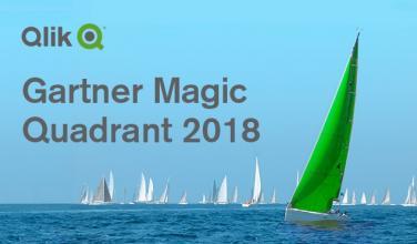 Gartner 2018 Analytics & Business Intelligence Magic Quadrant Report & Qlik a Leader