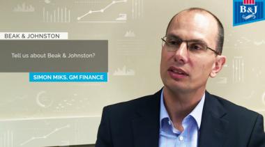 Simon Miks GM Finance Beak & Johnston Talks Host Analytics & cloud epm