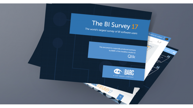 BARC BI Survey 17 Qlik Highlights