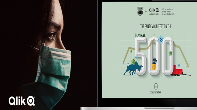 """Qlik and Fortune Launch """"The Pandemic Effect on the Fortune Global 500"""" Data Analytics Site"""