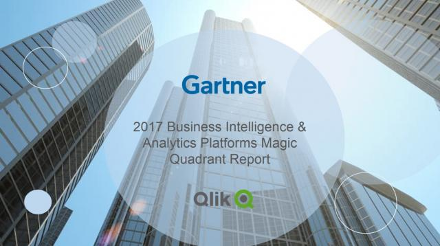 Why Qlik Is A Leader In Gartner's Business Intelligence & Analytics Magic Quadrant Report