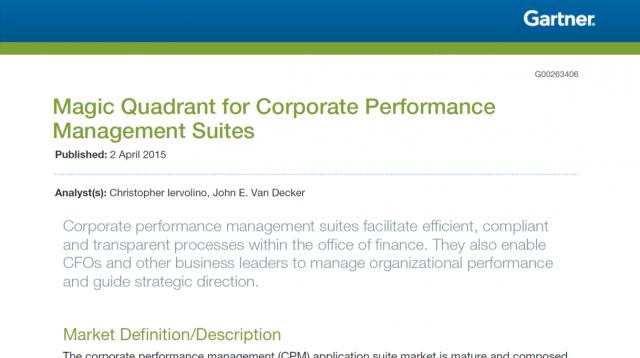 Enterprise Performance Management | Page 2 | Inside Info