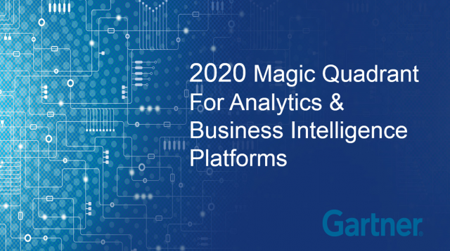 Qlik & Microsoft Leaders In 2020 Gartner Magic Quadrant for Analytics & Business Intelligence Platforms