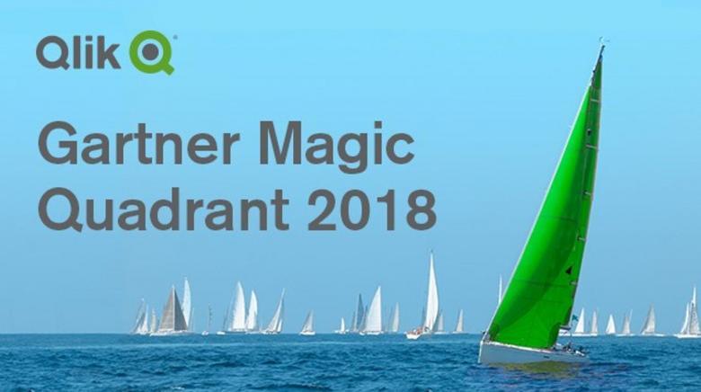 Gartner 2018 Analytics & Business Intelligence Magic Quadrant & Qlik a Leader
